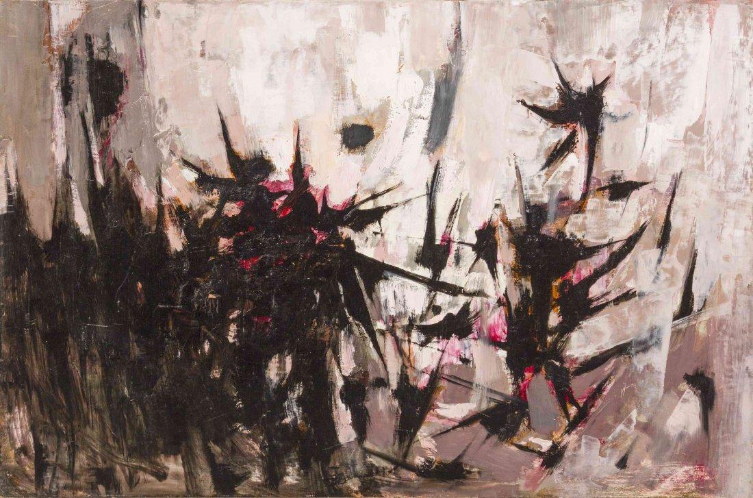 Otis Dozier, (American, 1904-1987), Untitled (Thistles)