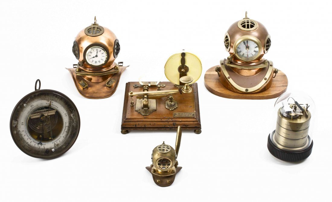 An Assembled Collection of Six Maritime-themed