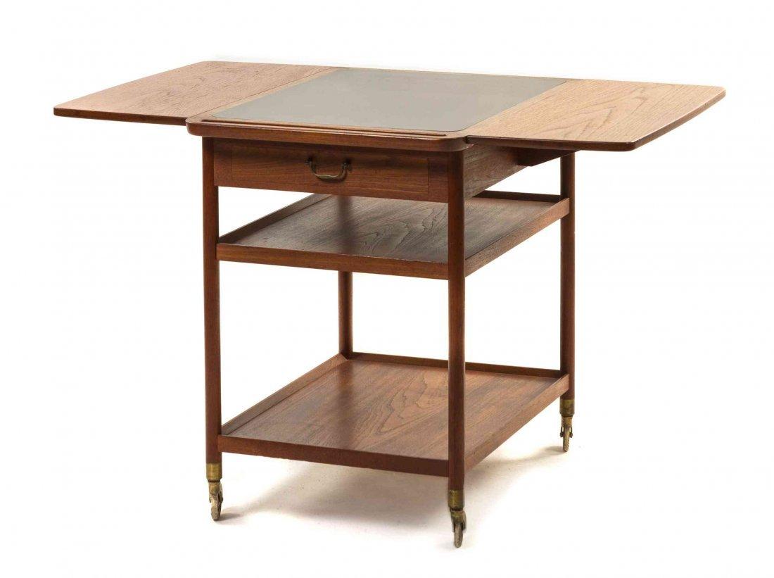 A Danish Teak Drop Leaf Occasional Table, Ludvig