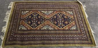 A Northwest Persian Wool Rug, 4 feet 5 inches x 3 feet