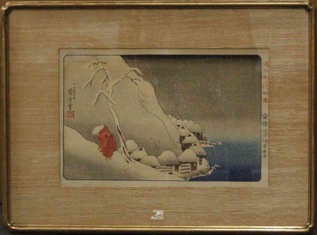 A Japanese Woodblock Print, Utagawa Kuniyoshi