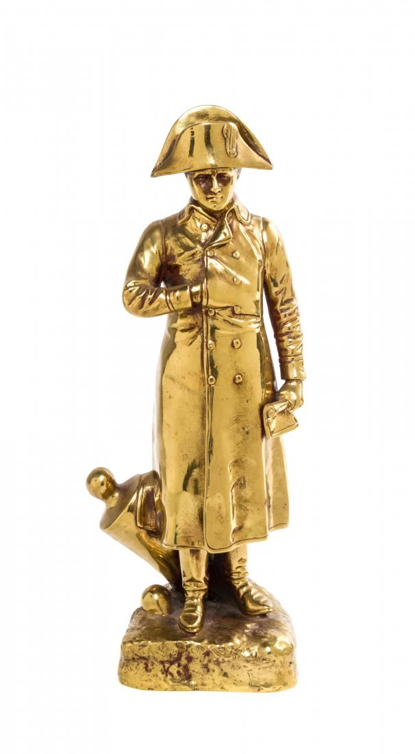 A French Gilt Bronze Figure, Height 11 3/8 inches.
