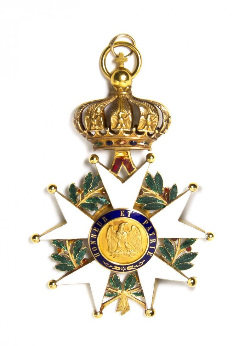 A French Second Empire Legion of Honor Medal, Height 3