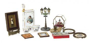 A Collection of French and Napoleonic Decorative Table