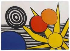 Alexander Calder, (American, 1898-1976), Untitled (Sun