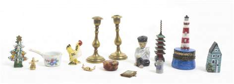 A Collection of Miniature Articles Height of tallest 3