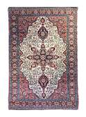 A Sarouk Farhan Wool Rug 6 feet 4 inches x 4 feet 2