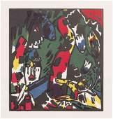 Wassily Kandinsky, (Russian, 1866-1944), Bogenschutze