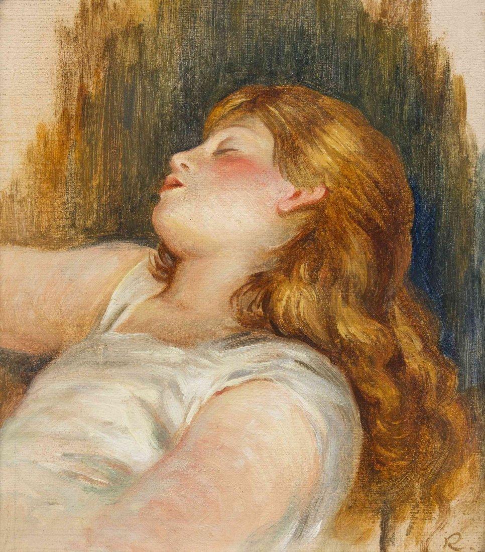 Pierre-Auguste Renoir, (French, 1841-1919), Femme