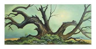 William Sanderson, (American, 1905-1990), Old Willow,
