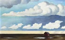 William Sanderson, (American, 1905-1990), Spring