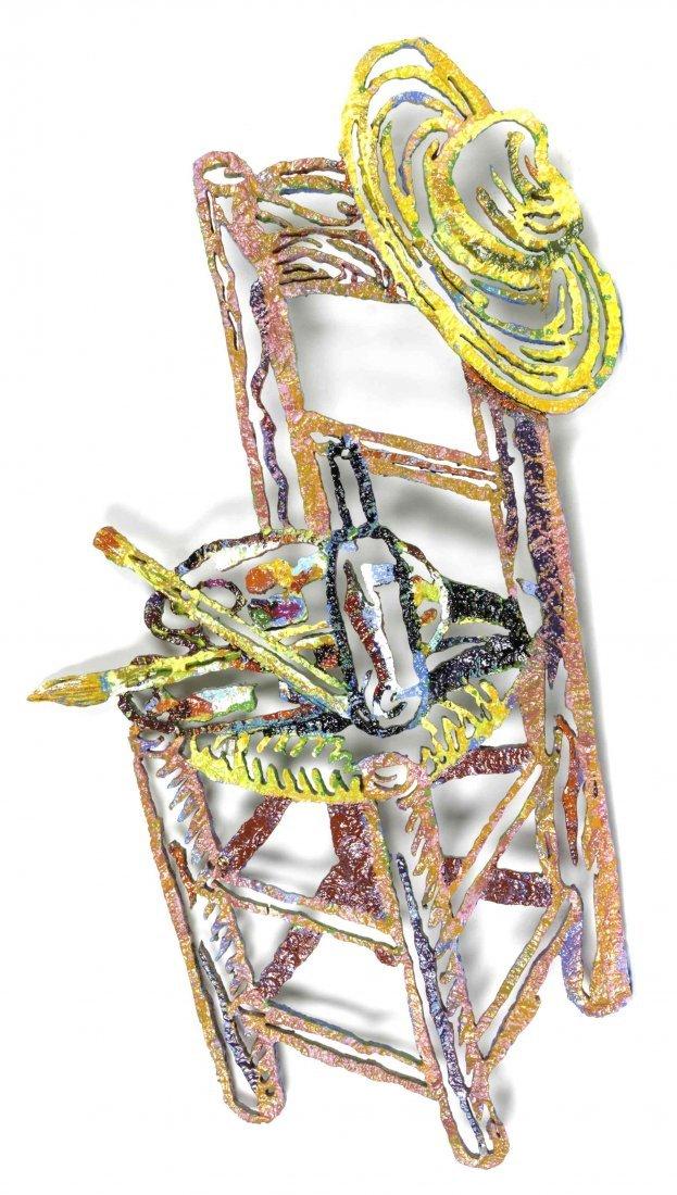 David Gerstein, (Israeli, b. 1944), Van Gogh's Chair