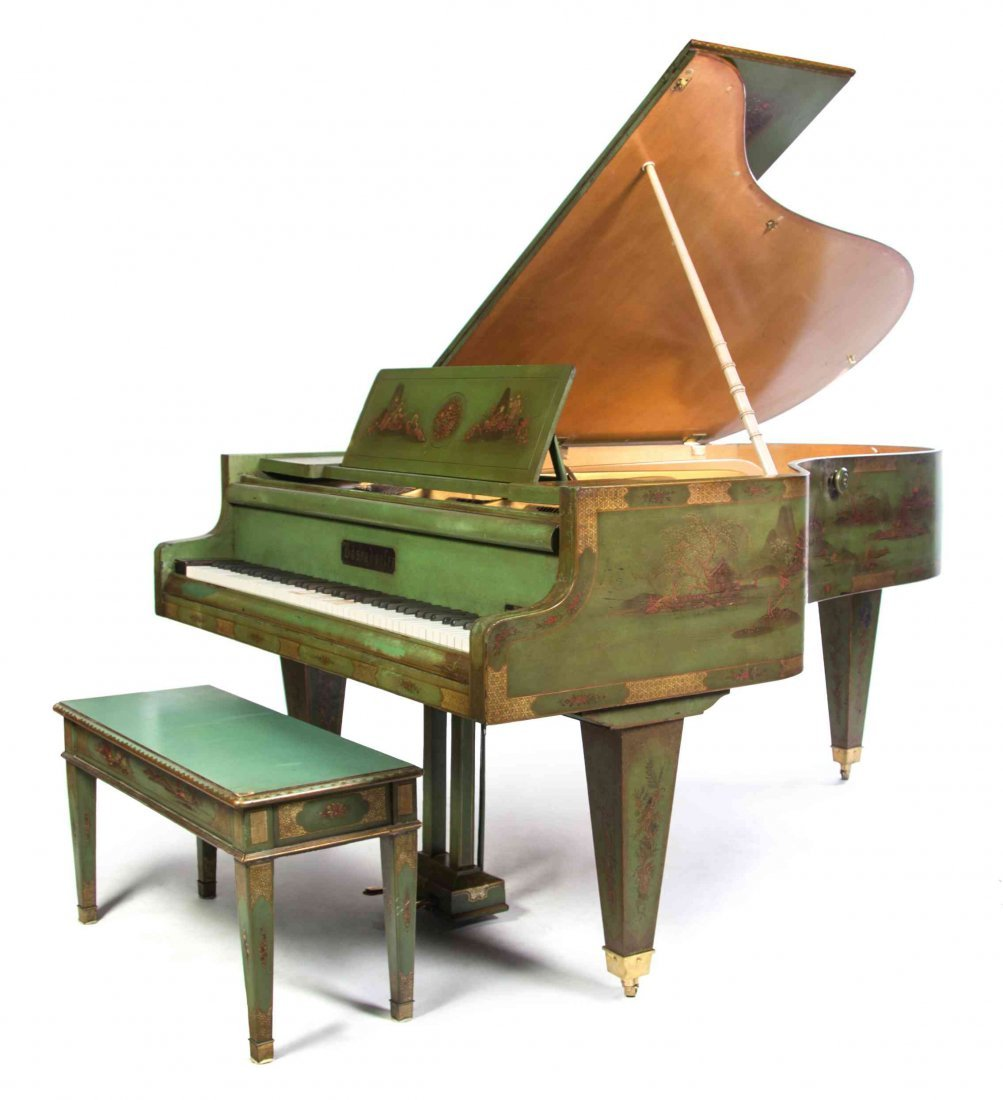 A Bosendorfer Concert Grand Piano, MODEL 200 OPUS,