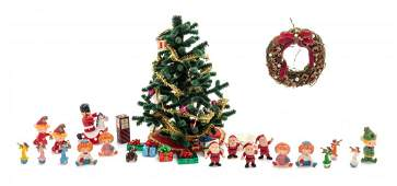 A Collection of Christmas Articles Height of tree 6