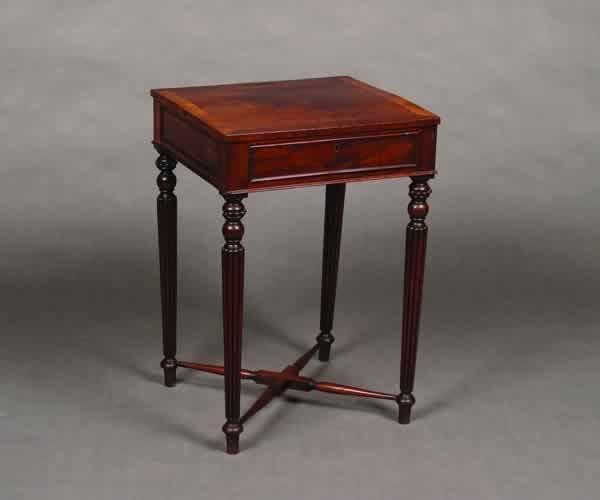3: A Mahogany Lady's Writing Desk,