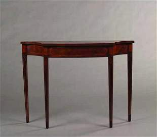 A George III Style Console,