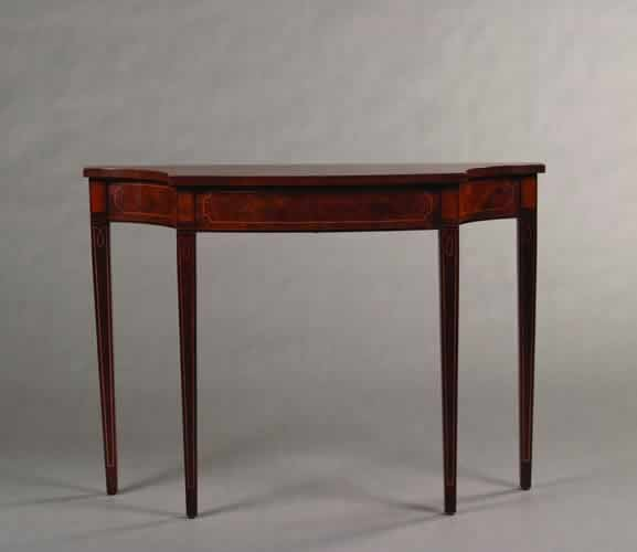 5: A George III Style Console,