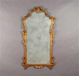 A Georgian Style Gilt Mirror,