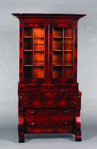 25: A Mahogany Secretary Bookcase,
