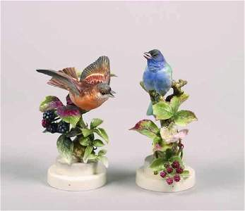 247: A Pair of Royal Worcester Dorothy Dought
