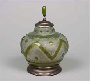 A Daum Glass Vase,
