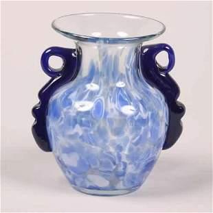 An Art Glass Vase, John Lotten,