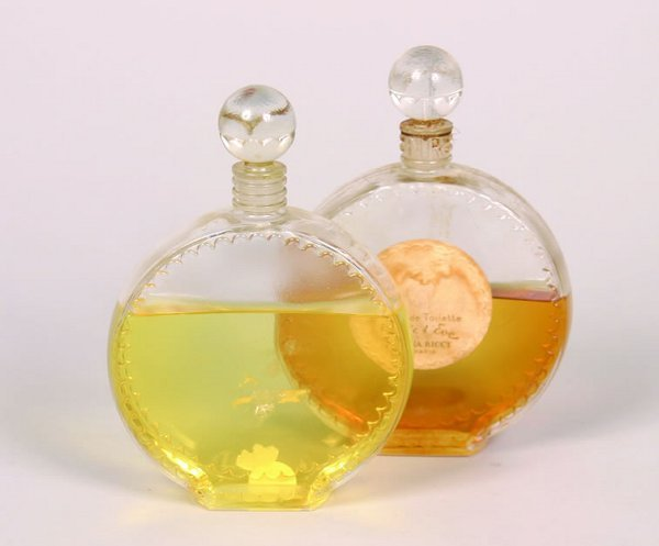 516: Two Lalique Perfume Bottles for Nina Ric