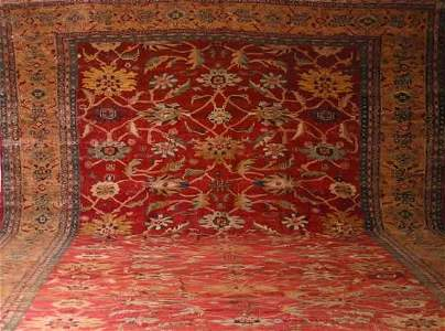 771: A Ziegler Mahal Carpet, Central Persia,