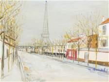 Maurice Utrillo, (French, 1883-1955), Avenue de