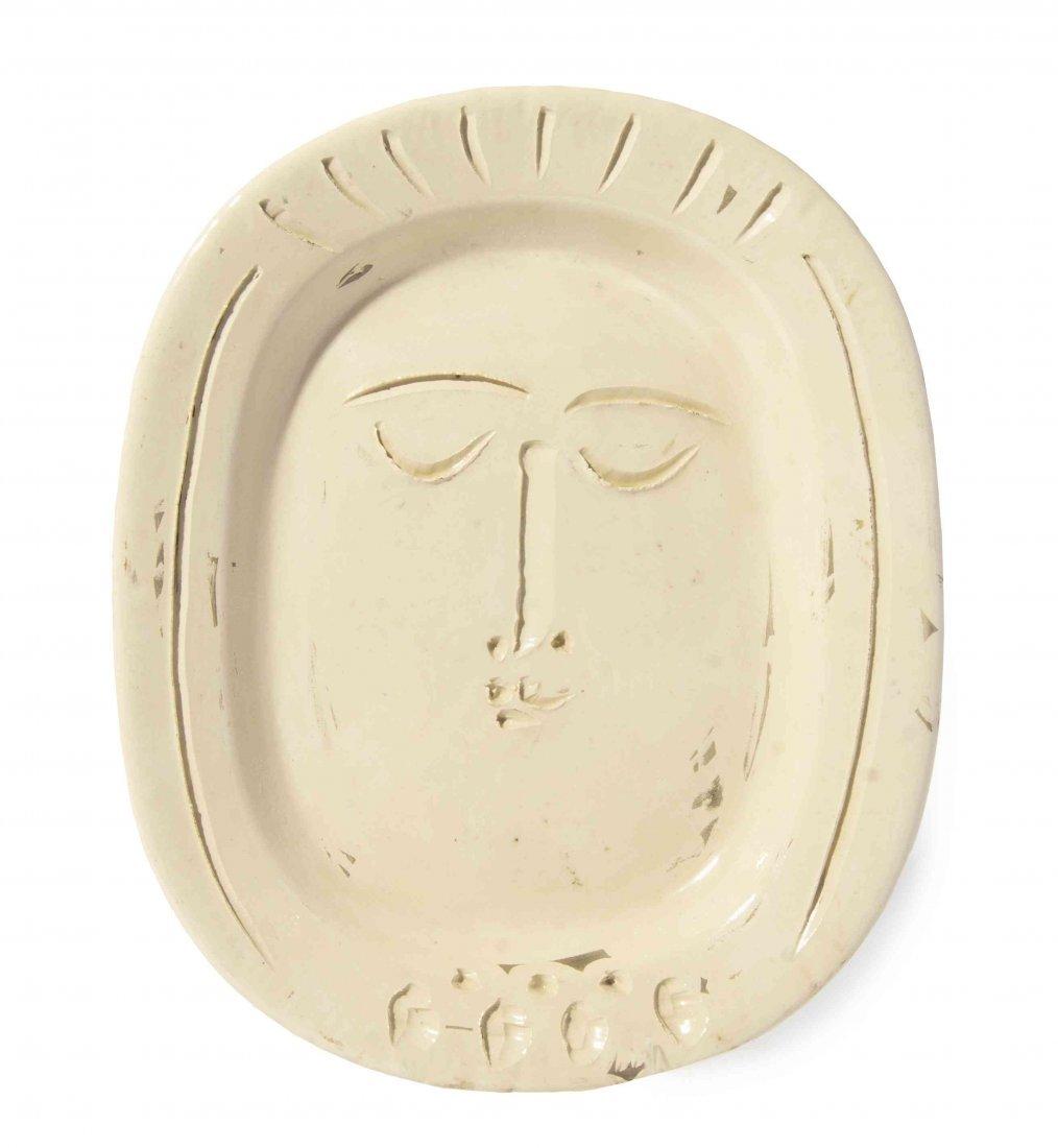 Pablo Picasso, (Spanish, 1881-1973), Visage de femme,