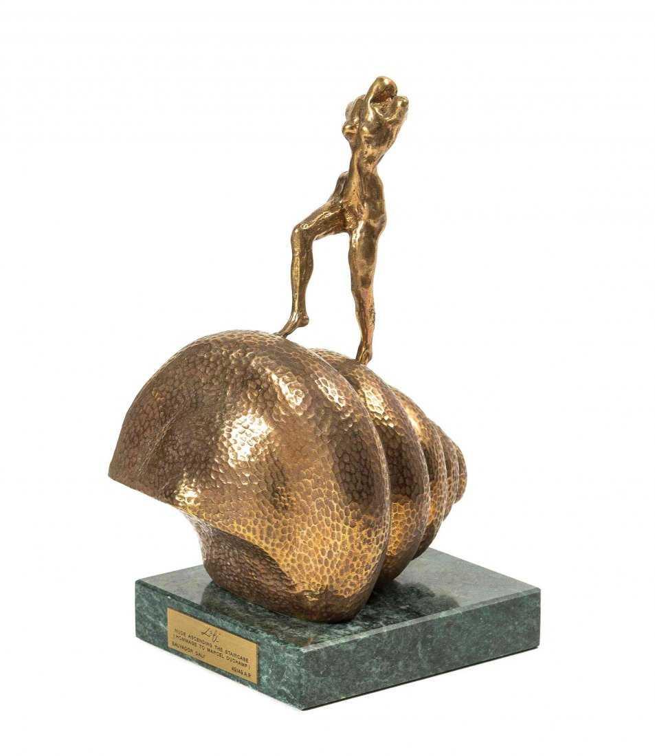 Lot 274: Salvador Dali (Spanish, 1904-1989) Gala Nude