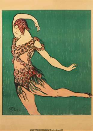 Jean Cocteau, (French, 1889-1963), Theatre de Monte