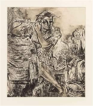 Dox Thrash, (American, 1893-1965), Saturday Night,