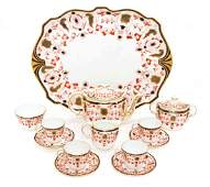 A Royal Crown Derby Porcelain Tea Service, Height of