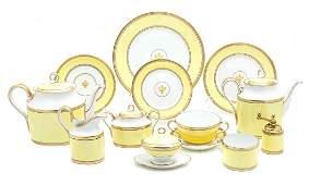 A Partial Porcelain Dinner Service Richard Ginori