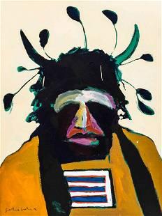 Fritz Scholder, (Native American, 1937-2005), American