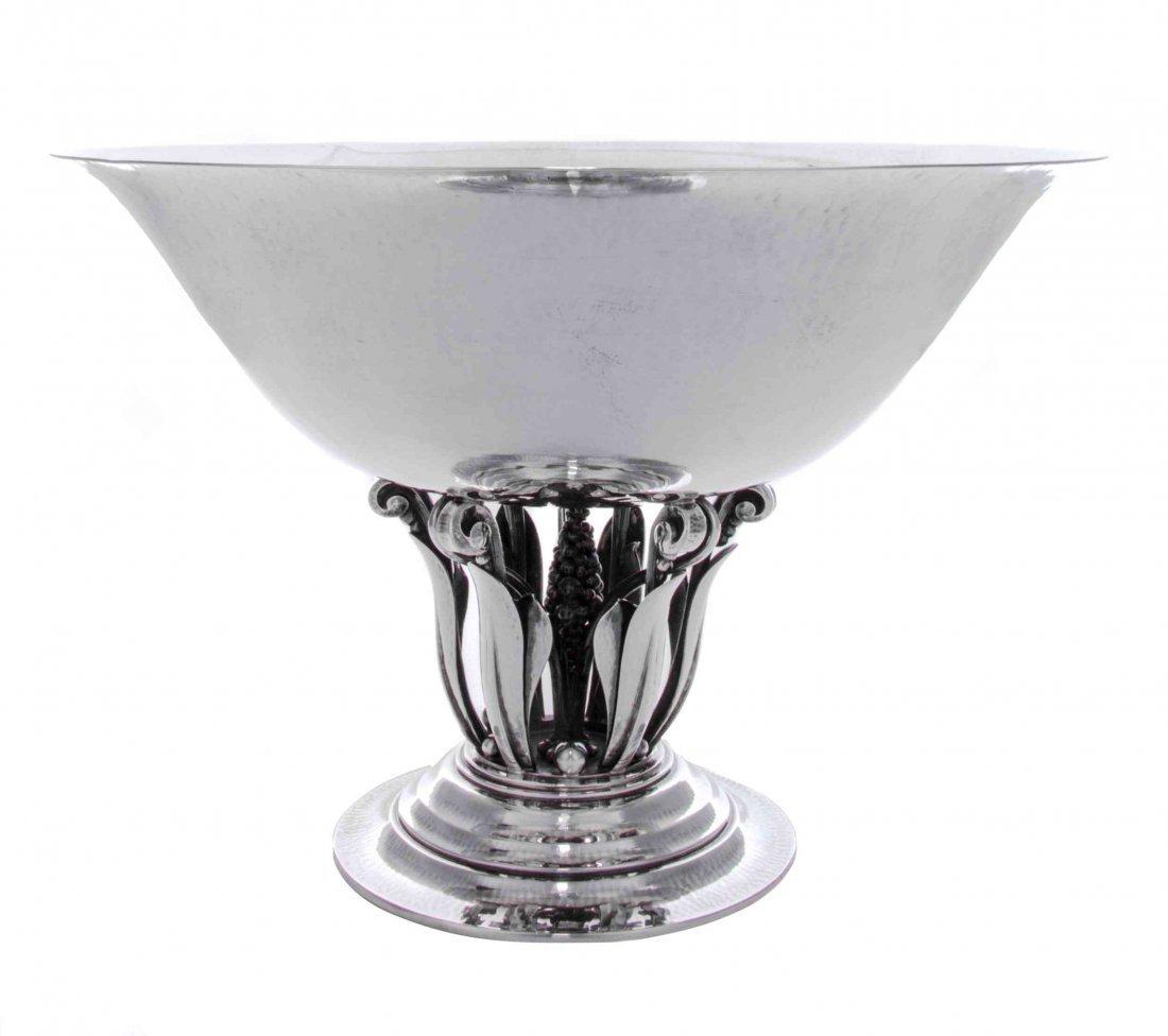 A Danish Silver Bowl, No. 196, Georg Jensen