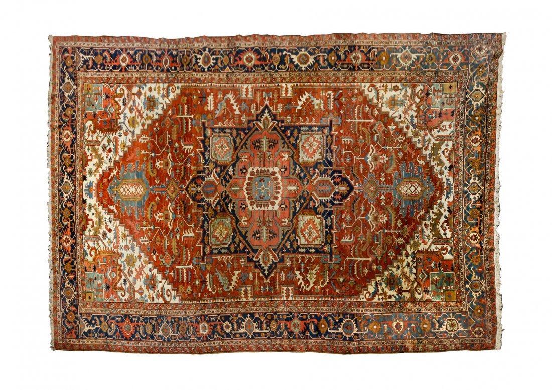 A Serapi Wool Rug, 12 feet 9 inches x 18 feet 8 inches.
