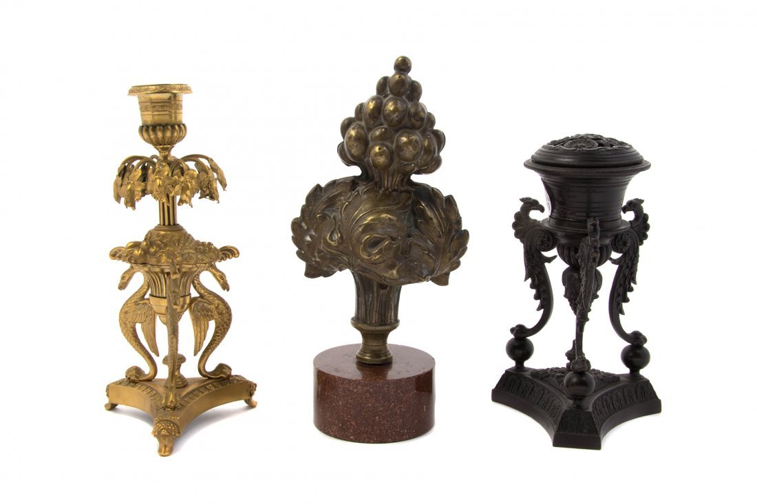 A Collection of Decorative Table Articles, Height of