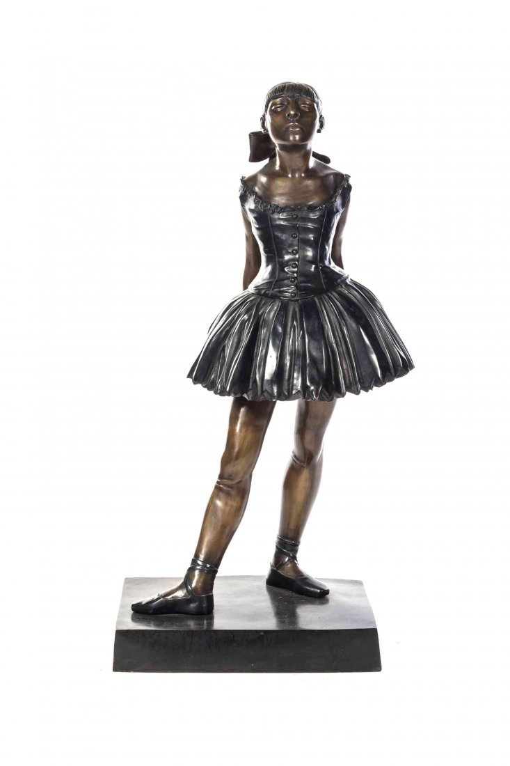 After Edgar Degas, , Little Dancer of Fourteen Years