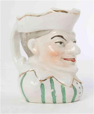 An English Toby Mug, Height 5 inches.