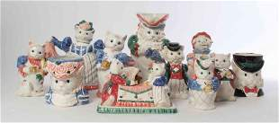 A Collection of Whimsical Ceramic Articles, Height of