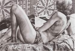 Winifred Godfrey, (American, b. 1944), Reclining and