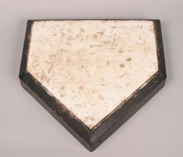 1016: A Home Plate from Tiger Stadium.