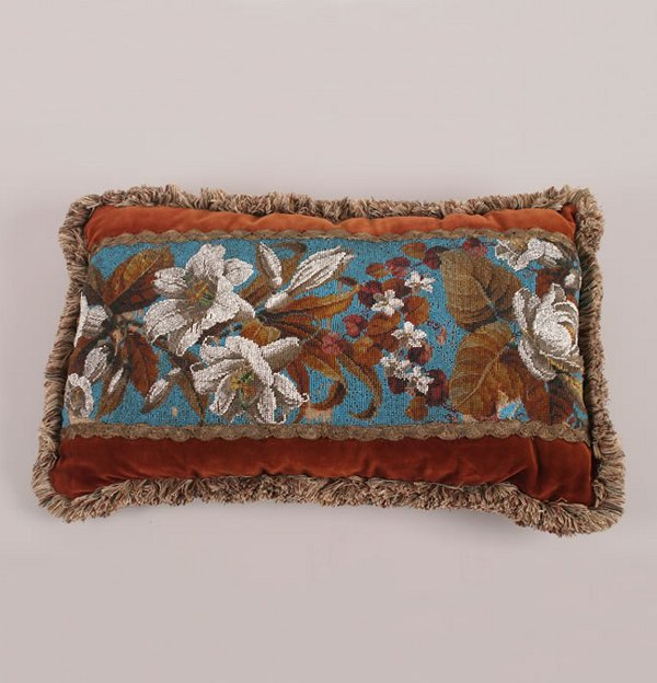 21: A Victorian Beadwork Pillow,