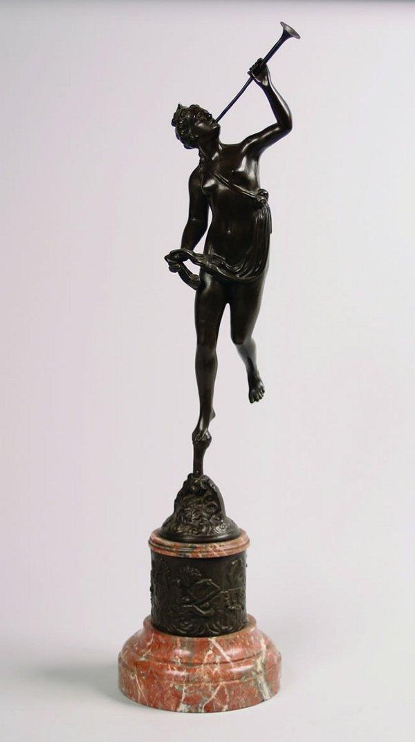 514: A Bronze Figure,