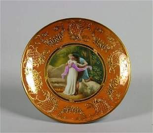 A German Porcelain Cabinet Plate,