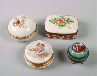 A Miscellaneous Group of Continental Porcelain Dr