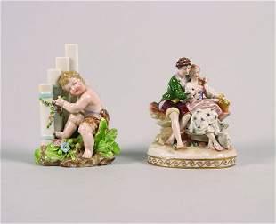 A Rosenthal Porcelain Figure Group,