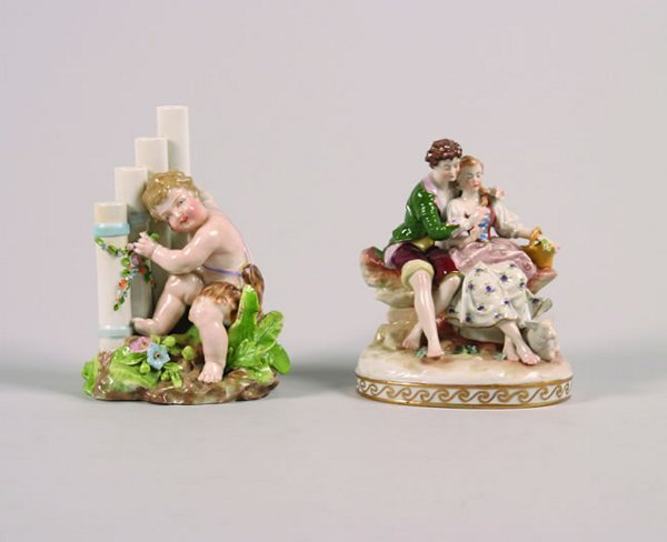 1153: A Rosenthal Porcelain Figure Group,